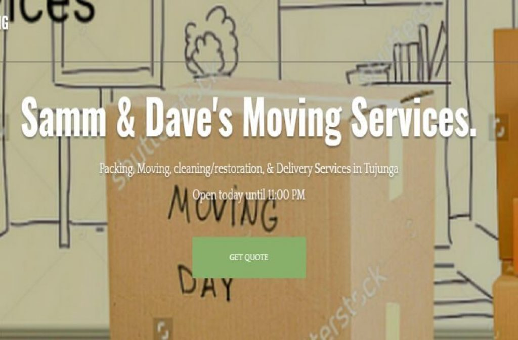 samm daves moving services