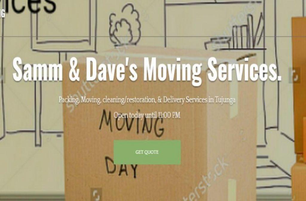 samm daves moving services