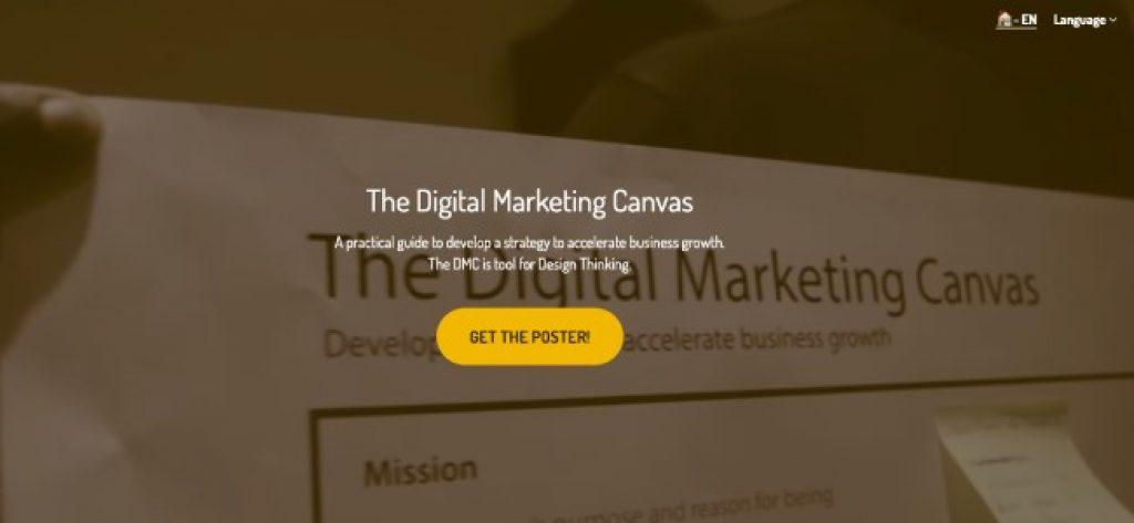digital marketing canvas